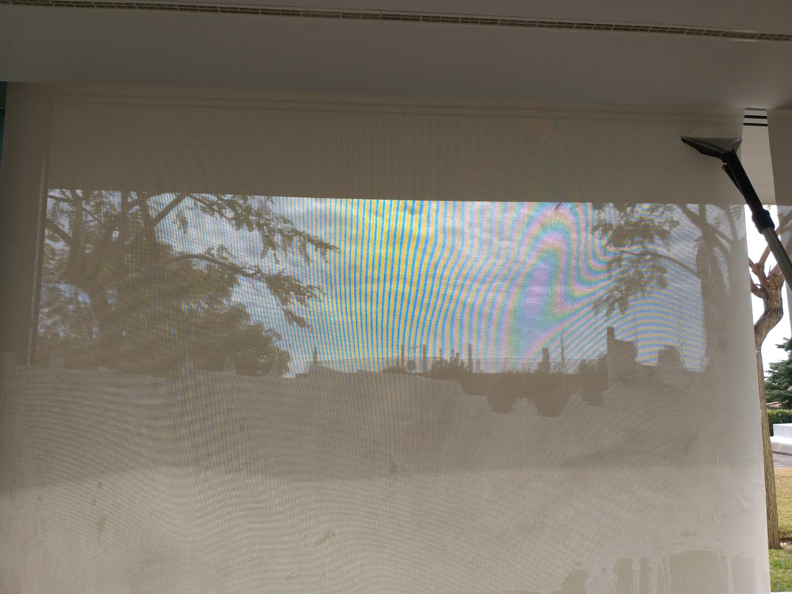 Limpieza de screens en la zona del Maresme