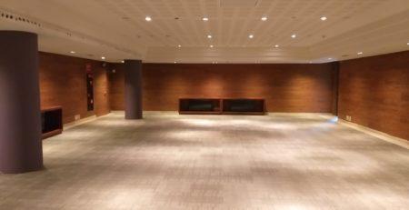Limpieza de zona enmoquetada hotel Miramar Barcelona