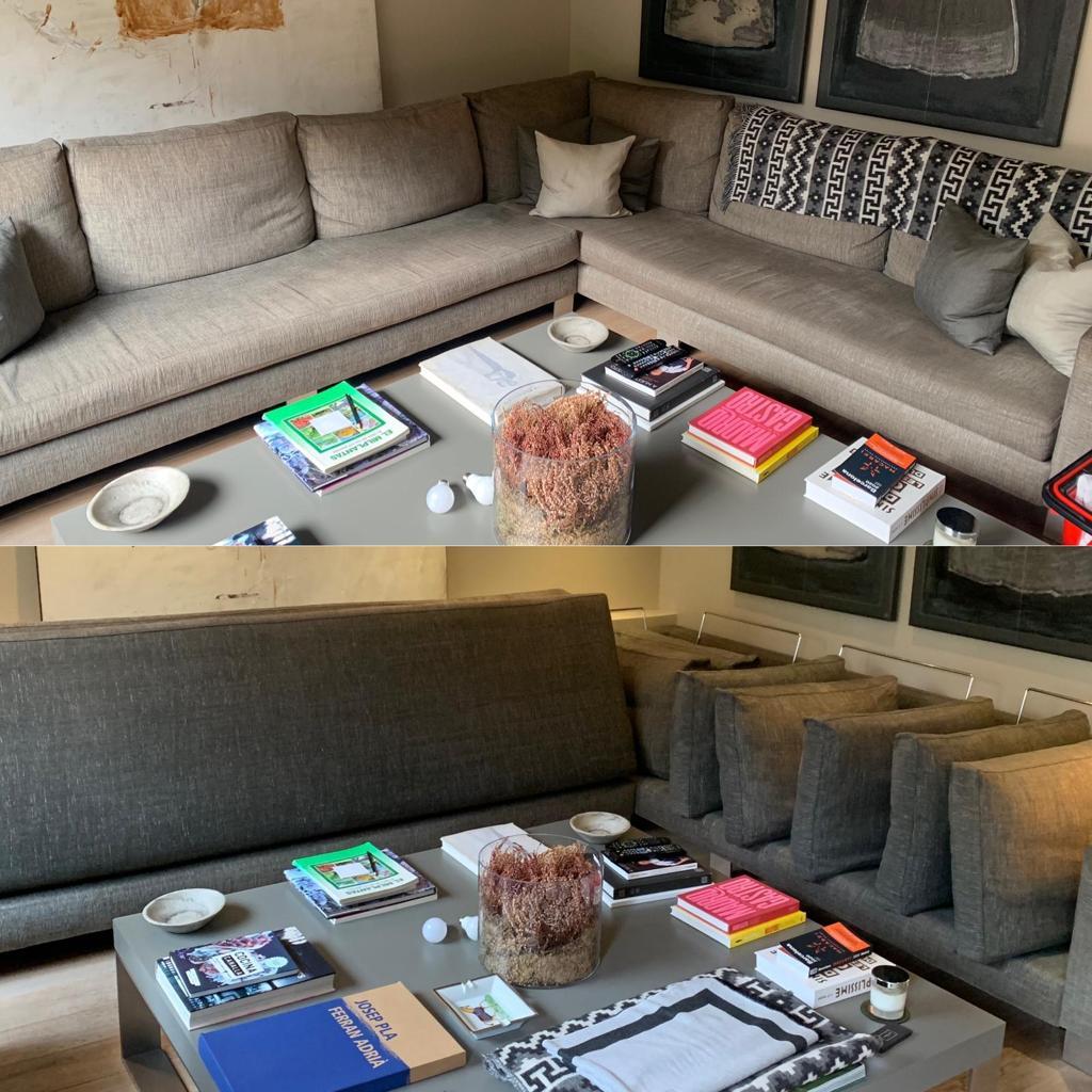 Limpieza sofa a domicilio en Barcelona