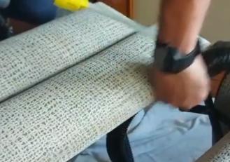 Limpieza de butaca con reposapiés